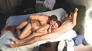 Bi Sex Muscle Man & Friends – Hard Homemade Threesome