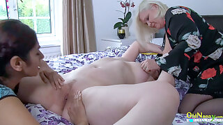 OLDNANNY – Busty And Hot Mature Woman from Britain