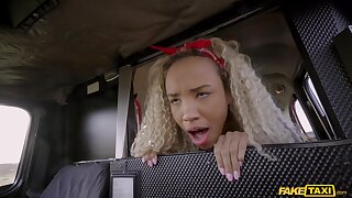 Romy Indy fucks cabbie instead of playing toys