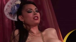 Costumed Big Titty Oriental Tera Patrick Enjoys Some Great Anal Action