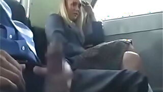 Pretty Blonde Teen Schoolgirl Natalie Norton Seduced by a Dick During A Bus Ride